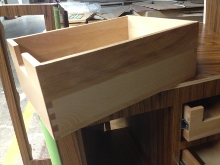 tongue and groove drawer 1